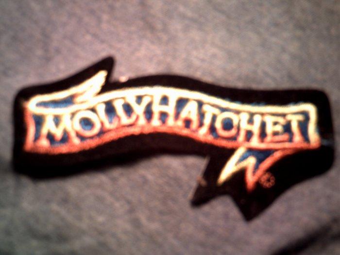 MOLLY HATCHET iron-on PATCH classic logo VINTAGE