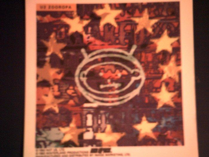 U2 DECAL not STICKER Zooropa album art U-2 VINTAGE