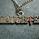 SLAUGHTER METAL NECKLACE classic logo VINTAGE