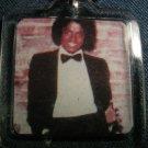 MICHAEL JACKSON Off The Wall album art key chain VINTAGE 80s!