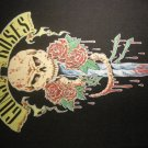 GUNS N ROSES BACKPATCH skull & dagger logo gnr patch VINTAGE