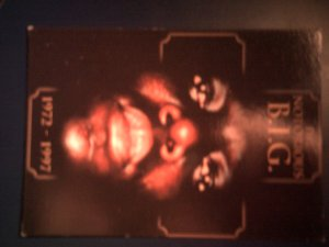 NOTORIOUS B.I.G. POSTCARD biggie smalls big rap post card IMPORT