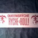 QUEENSRYCHE STICKER Ryche & Roll! red/white logo SCARCE!