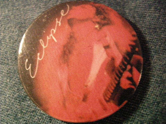 YNGWIE MALMSTEEN PINBACK BUTTON Eclipse album art VINTAGE