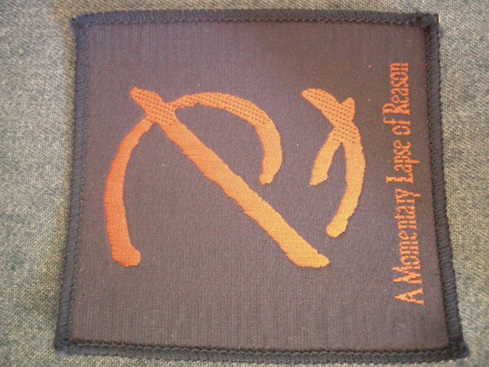 PINK FLOYD sew-on PATCH Momentary Lapse of Reason VINTAGE