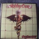 MOTLEY CRUE PINBACK BUTTON Dr Feelgood album art VINTAGE