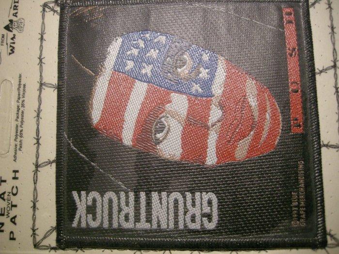GRUNTRUCK sew-on PATCH Push album art moc VINTAGE