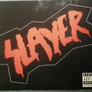 SLAYER STICKER logo God Hates the World Tour PROMO
