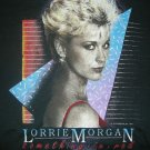 LORRIE MORGAN SHIRT Something in Red country L