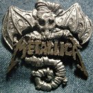 METALLICA METAL PIN Creeping Death logo badge VINTAGE