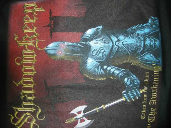 SHADOWKEEP SHIRT 2005 USA/Europe Tour XL NEW!