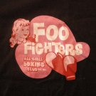 FOO FIGHTERS SHIRT All Girls Boxing Club nirvana youth M