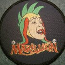 MARILLION sew-on PATCH jester logo VINTAGE