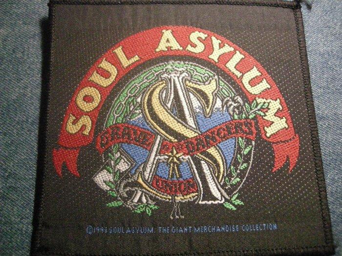 SOUL ASYLUM sew-on PATCH Grave Dancer's Union IMPORT!