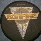 BONFIRE sew-on PATCH round logo IMPORT