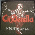 CINDERELLA sew-on PATCH Night Songs wizard VINTAGE