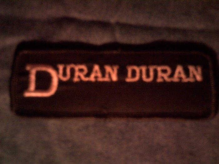 DURAN DURAN iron-on PATCH pink logo VINTAGE