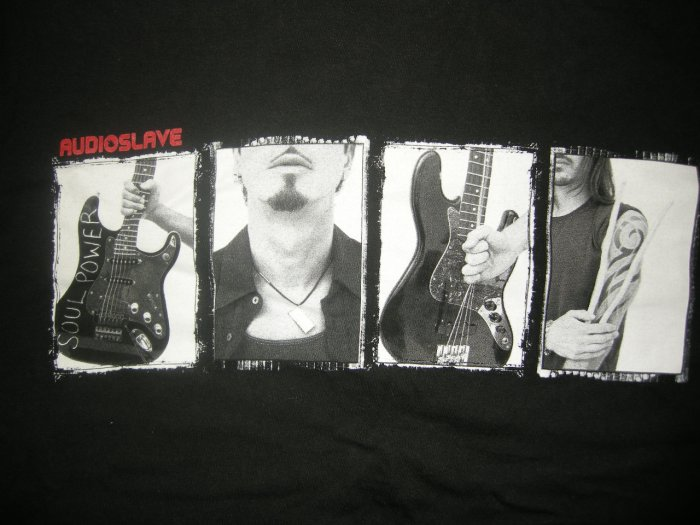 AUDIOSLAVE SHIRT 2005 Tour chris cornell soundgarden M
