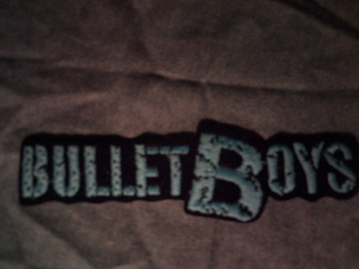 BULLETBOYS iron-on PATCH classic logo bullet boys VINTAGE