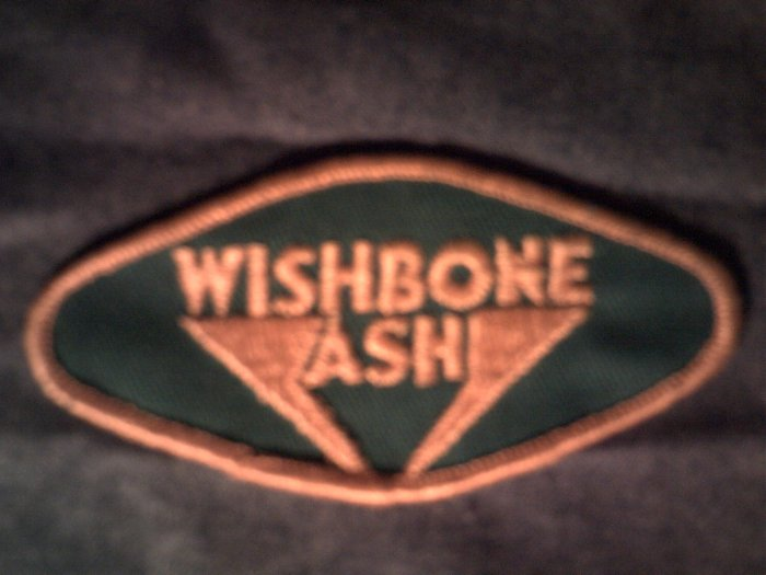 WISHBONE ASH iron-on PATCH logo VINTAGE