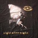 JERRY JEFF WALKER SHIRT Night After Night birthday weekend concert texas XL RARE