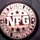 NEW FOUND GLORY iron-on PATCH round logo