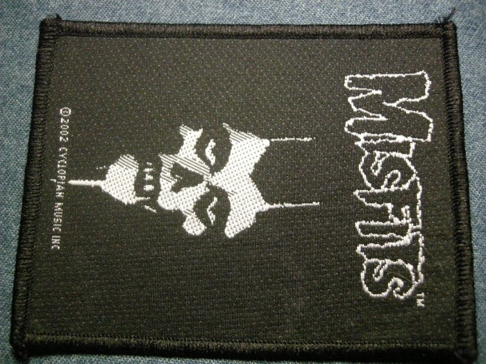 THE MISFITS sew-on PATCH new ghoul danzig IMPORT