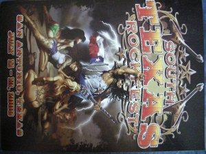 2008 STRF TOUR BOOK queensryche godz helix tesla axe la guns ozz knozz dokken jackyl ufo texas RARE