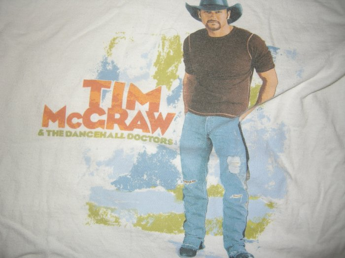 TIM McGRAW SHIRT Dancehall Doctors country youth L SALE