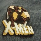 X-MEN TACK PIN wolverine brown uniform xmen button PROMO