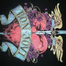 BON JOVI SHIRT heart sword logo jon M