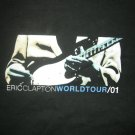 ERIC CLAPTON SHIRT 2001 World Tour ec guitar XL