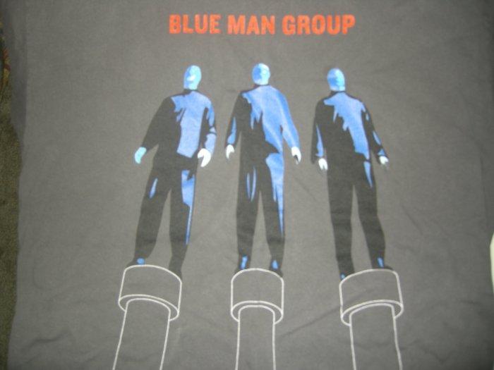 BLUE MAN GROUP SHIRT the Complex Tour 3 men grey XL