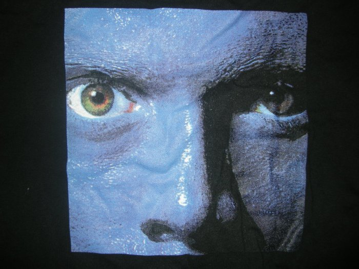BLUE MAN GROUP SHIRT big face black XL
