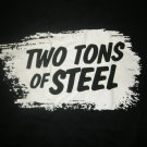 TWO TONS OF STEEL SHIRT Just Like Hard Liquor bottle texas M HTF!