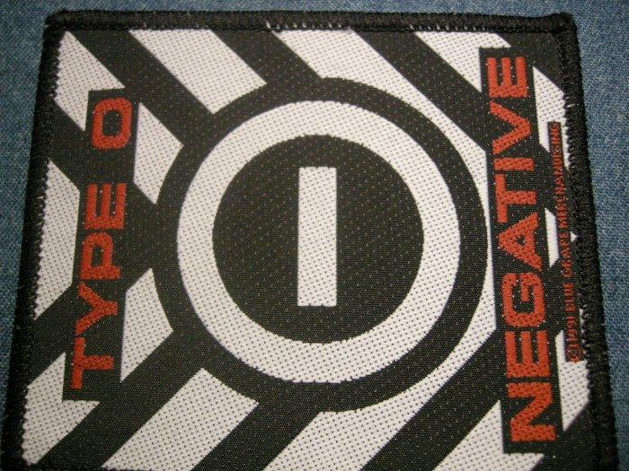 TYPE O NEGATIVE sew-on PATCH logo IMPORT