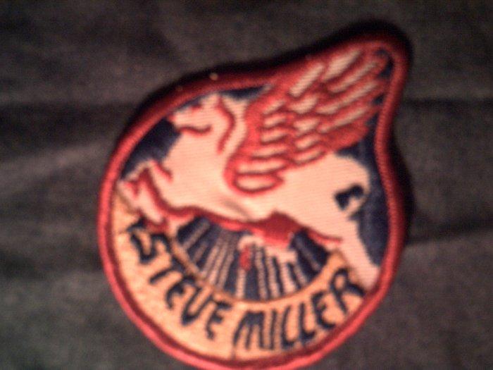 STEVE MILLER BAND sew-on PATCH pegasus logo VINTAGE