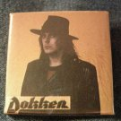 DOKKEN PINBACK BUTTON don pic square VINTAGE