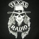 TEXAS RADIO SHIRT old rebel skull logo M