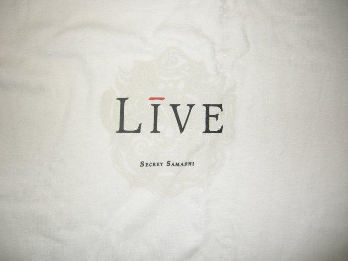 LIVE 1997 TOUR SHIRT Secret Samadhi white L NEW!