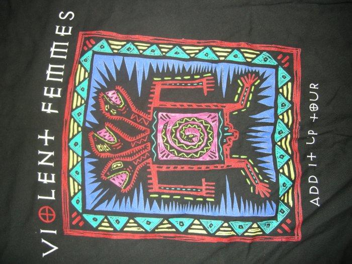 VIOLENT FEMMES SHIRT tribal album art punk 2XL XXL