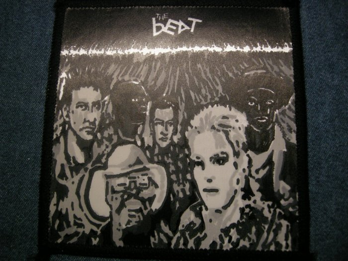 THE BEAT sew-on PATCH ska punk IMPORT