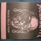 MEGADETH BACKSTAGE PASS Peace Sells Tour bsp VINTAGE