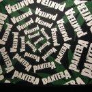 PANTERA BACKPATCH multi-logo pot leaf patch VINTAGE