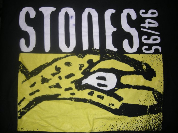 THE ROLLING STONES 94/95 TOUR SHIRT Voodoo Lounge North American L