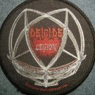 DEICIDE sew-on PATCH Legion logo metal IMPORT