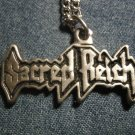 SACRED REICH METAL NECKLACE classic logo VINTAGE