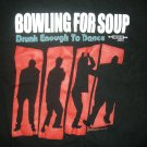 BOWLING FOR SOUP SHIRT Too Drunk To Dance girl/youth M
