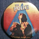 THE POLICE PINBACK BUTTON Zenyatta Mondatta sting VINTAGE