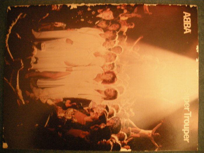 ABBA SONGBOOK Super Trouper song book VINTAGE SALE